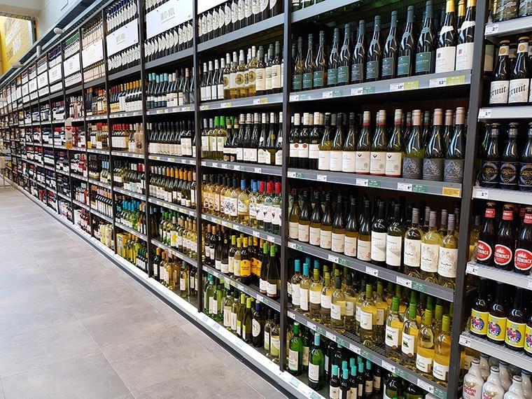Choisir un vin en supermarché
