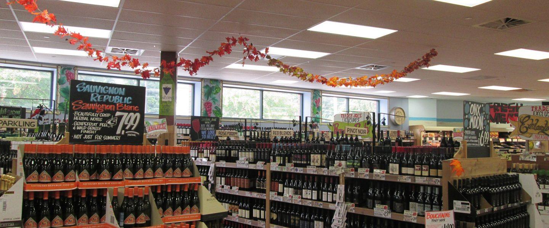 Acheter un vin en grande surface