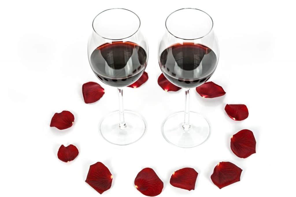 Vin rouge comme cadeau